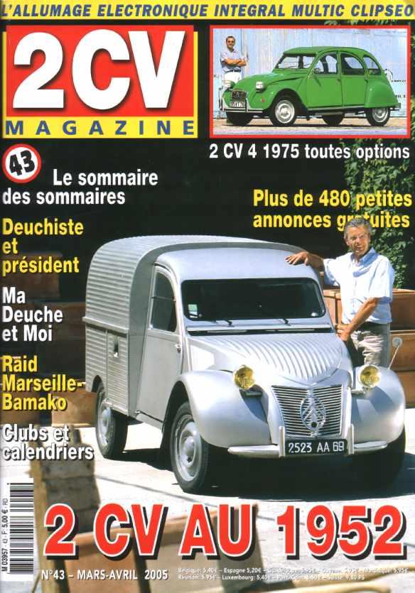 2cv revues   2cv magazine